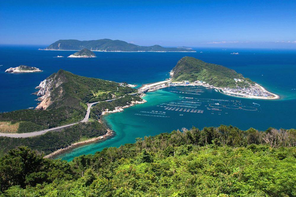 柏島(大堂山展望台からの風景)